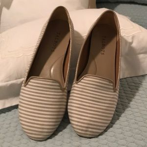 Talbots Striped Canvas Espidrille